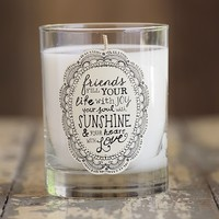 Friends  Natural  Life  Soy  Candle  From  Natural  Life