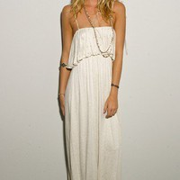 Long Ruffle Dress - DRESSES - Shop Online