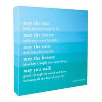 Quotable Canvas - May The Sun... | Pictures and Prints | Bloomsbury Store