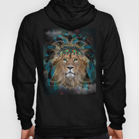 Fight For What You Love (Chief of Dreams: Lion) Tribe Series Hoody by soaring anchor designs ⚓ | Society6