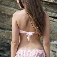 Bettinis - Fringe Bottom / Blush | The Girl and The Water