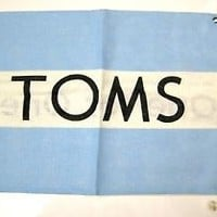 TOMS Carry Bag Collection For Shoes Wall Flag Baggy