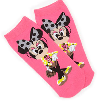Bespectacled Minnie Ankle Socks