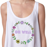 Oh Well Crop Top - Hipster Tops