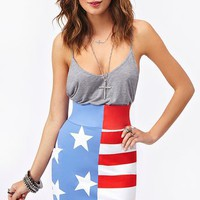 Stars &amp; Stripes Skirt