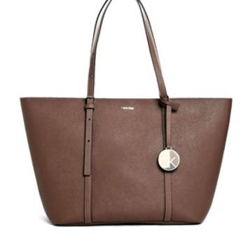 Calvin Klein Sofie Leather Tote Bag