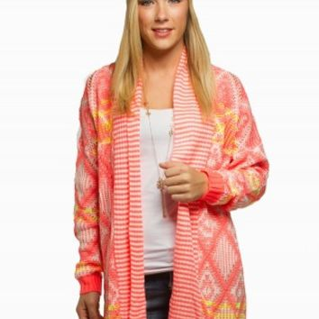 THE CLASSIC NEON CARDIGAN