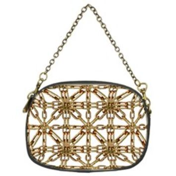 Chain Pattern Collage Chain Purse (Two Sided)