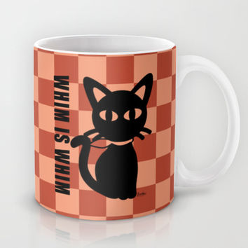 WHIM IS WHIM Mug by BATKEI