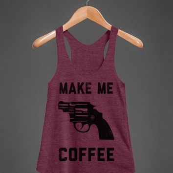Make Me Coffee (Vintage V Neck)