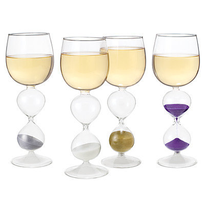 WINE HOURGLASSES - SET OF 4