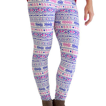 Leggings- So Soft Electric Avenue