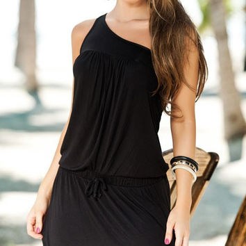 Simply One Shoulder Dress