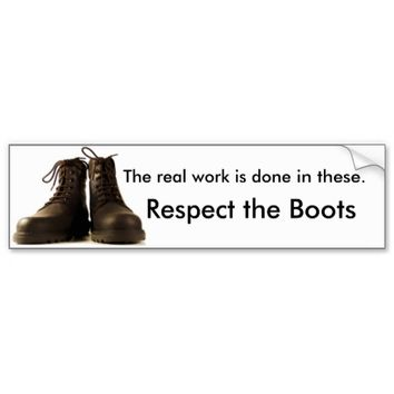 Respect the Boots