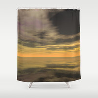 Vista Echoes Shower Curtain by Texnotropio