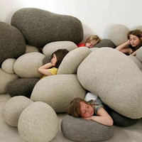Unique Design Living Stone Pillows