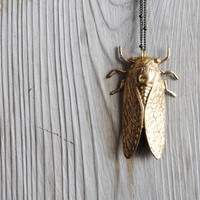 Cicada Necklace - Summer Fashion - Free Shipping in the US