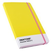 Pantone Notebook Large - Process Yellow PA69: Amazon.co.uk: Office Products