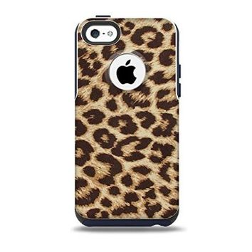 The Simple Vector Cheetah Print Skin for the iPhone 5c OtterBox Commuter Case (Decal Only)