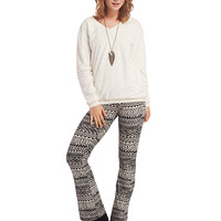 Tribal Striped Bell Bottoms | Wet Seal