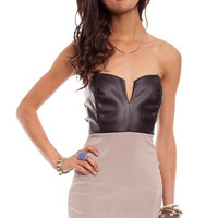 Domino Body Con Dress