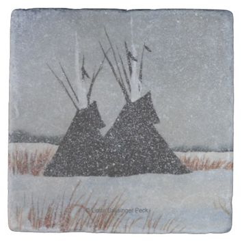 Snowdusted Tipis