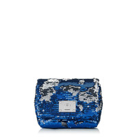 Aegean Double Faced Sequins Clutch Bag with Chain Shoulder Strap | Ruby | Pre Fall 14 | JIMMY CHOO Evening bags and clutches
