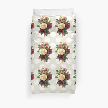 Roses, Flowers, Blooms, Leaves - Red Green White