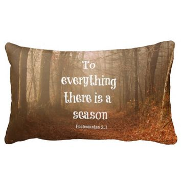 To everything there is a season Bible Verse