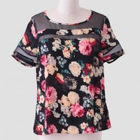 Tropical Zone Floral Top