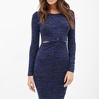 Knotted Sweater Dress