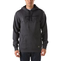 Vans Classic Pullover Hoodie (New Charcoal Heather/Black)