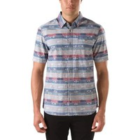 Vans Torres Buttondown Shirt (Baja Stripe)