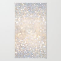 Glimmer of Light II (Ombré Glitter Abstract*) Area & Throw Rug by soaring anchor designs ⚓ | Society6