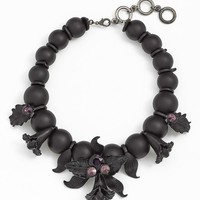 Cara 'Black Orchid' Statement Necklace | Nordstrom