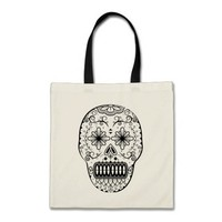Day of the dead tote bag!