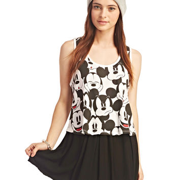 Mickey Mouse™ Faces Tank | Wet Seal