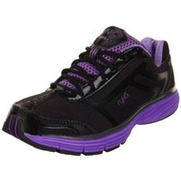 Ryka Women`s Regulate,Black/Metallic Corcord Purple/Metallic Steel Grey,9.5 B US