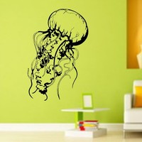 Jellyfish Version 111 Decal Sticker Wall Art Graphic Fish Ocean Scuba Dive