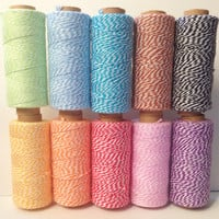 Baker's twine 10 yards - choose your color
