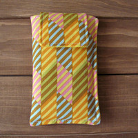 Fabric iPhone or iPod Touch Sleeve Cover Case, in Pazazz