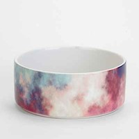 Caleb Troy For DENY Yin-Tang Painted Clouds Pet Bowl Set- Sky One Size- Sky One