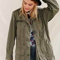 Urban Renewal Vintage French Surplus Jacket - Green
