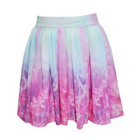 Nostalgic rainbow Skirt – Sirenlondon