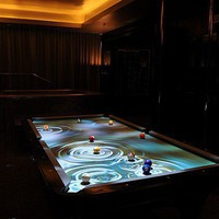 Interactive Pool Table Products  Obscura Digital