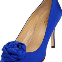 Kate Spade New York Women`s Karmen Closed-Toe Pump,Cobalt,6 M US
