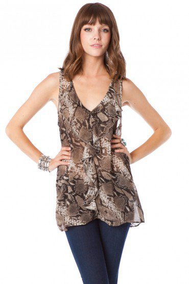 Luxe Snake Tank - ShopSosie.com