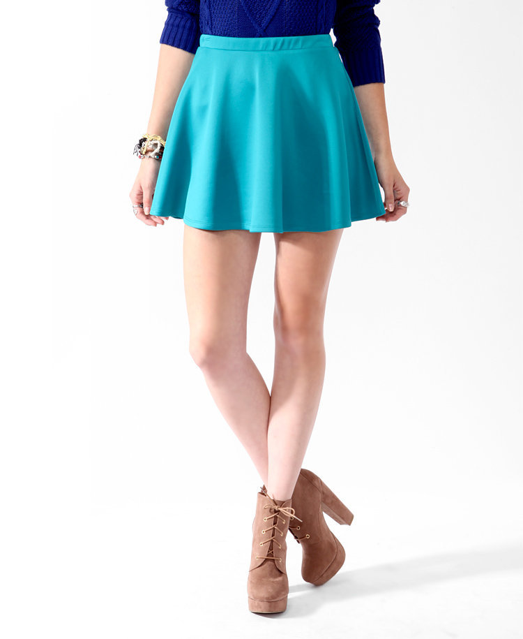 Lustrous Swing Skirt