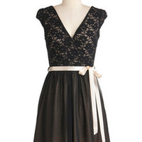 Champagne at Midnight Dress | Mod Retro Vintage Dresses | ModCloth.com