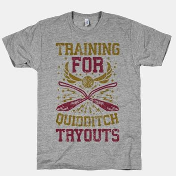 Training For Quidditch Tryouts (Gryffindor)
